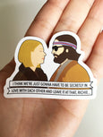 Margot and Richie Sticker - SleepyMountain