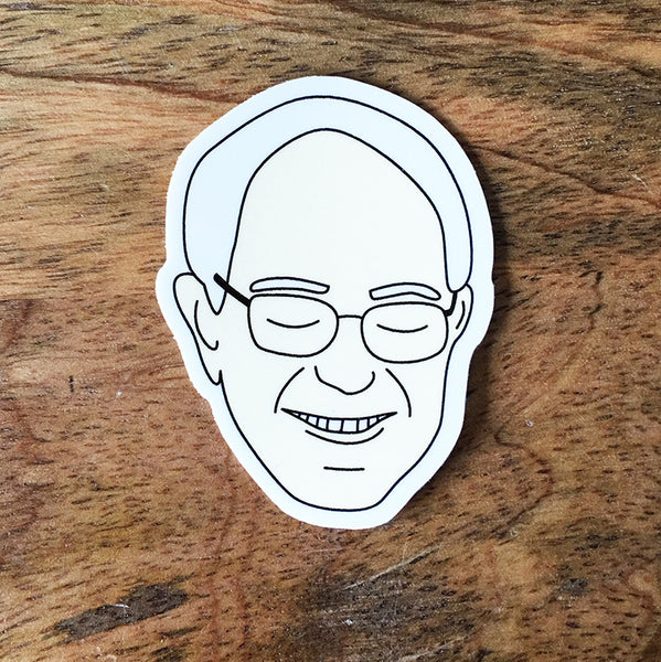 Bernie Sanders Sticker - SleepyMountain