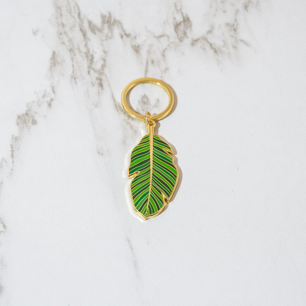 Banana Leaf Keychain - SleepyMountain