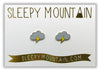 Lightning Cloud Earrings - SleepyMountain