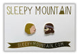Margot & Richie Tenenbaum Earrings - SleepyMountain