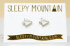 Paper Airplane Earrings - 22k Gold Plated - SleepyMountain