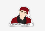 Michael Scott Santa Bond - The Office Vinyl Stickers