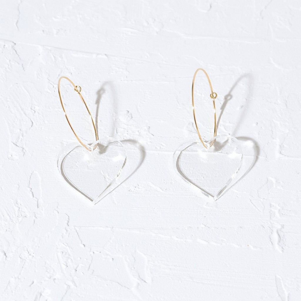 Heart Earrings - SleepyMountain