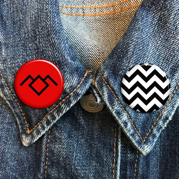 Twin Peaks Buttons - SleepyMountain