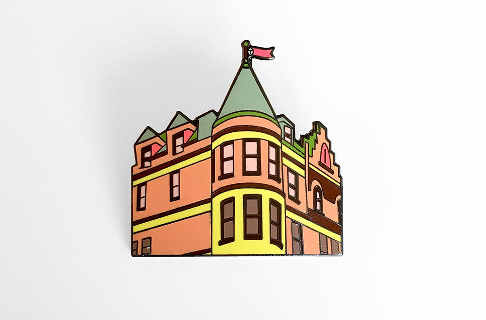 Tenenbaum House Enamel Pin - SleepyMountain
