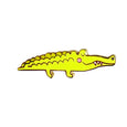 Alligator Enamel Pin - SleepyMountain