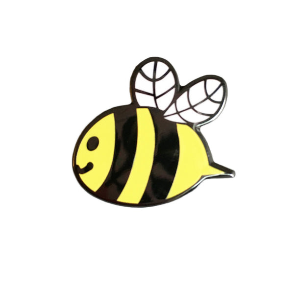 Bee Enamel Pin - Help Save the Bees