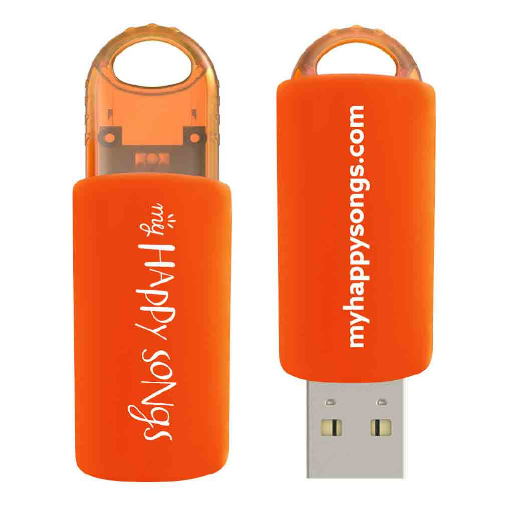 My Happy Songs USB2.0, 2GB Flash Drive