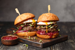 healthy burger choices - swolverine