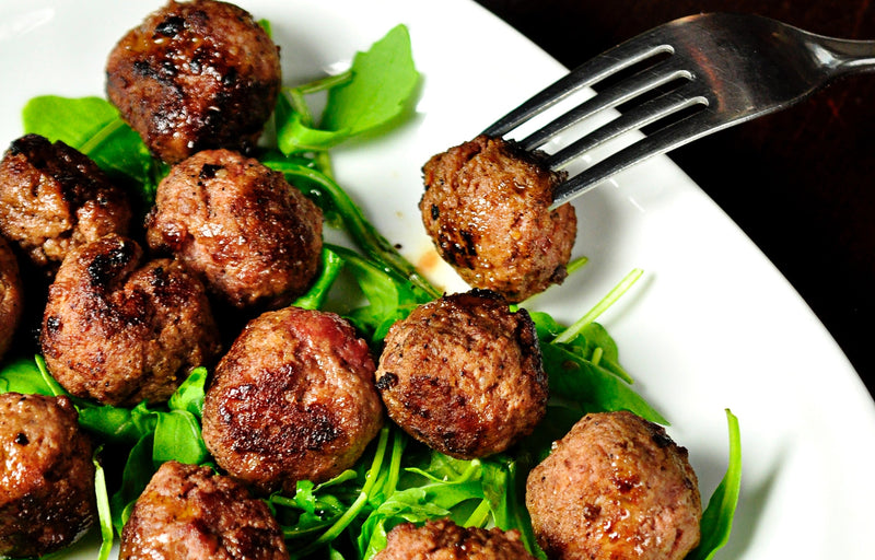 Recipe: Quick and Easy Baked Turkey Meatballs by Swolverine