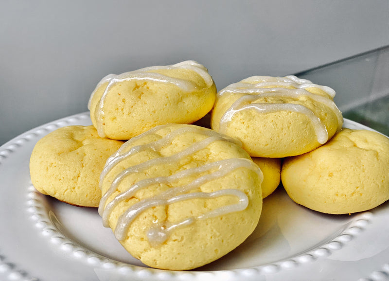 Soft and Chewy Lemon Protein Cookies Recipe by Swolverine