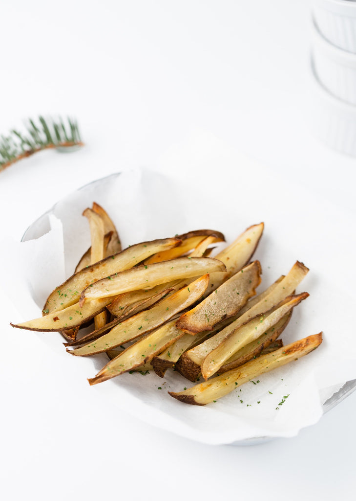 12 Crunchy Snacks That Are Healthy And Budget Friendly - Eggplant Fries - Swolverine