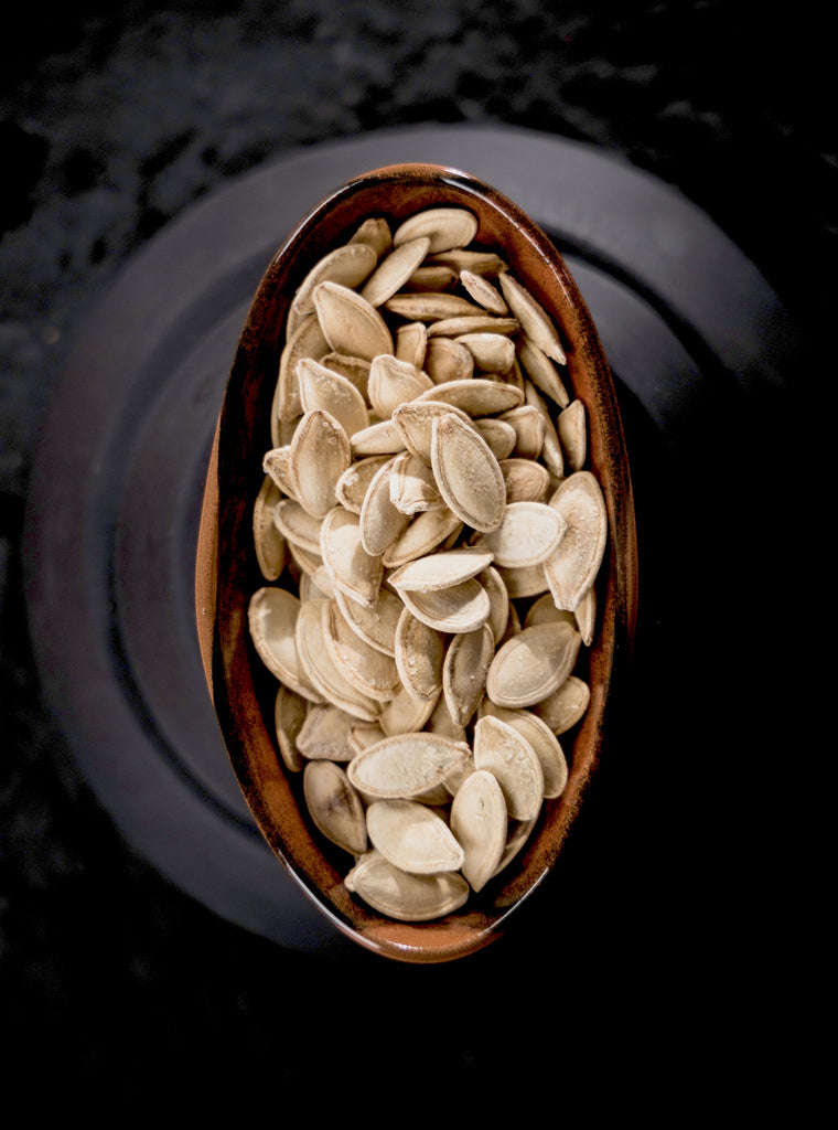12 Crunchy Snacks That Are Healthy And Budget Friendly - Roasted Pumpkin Seeds - Swolverine