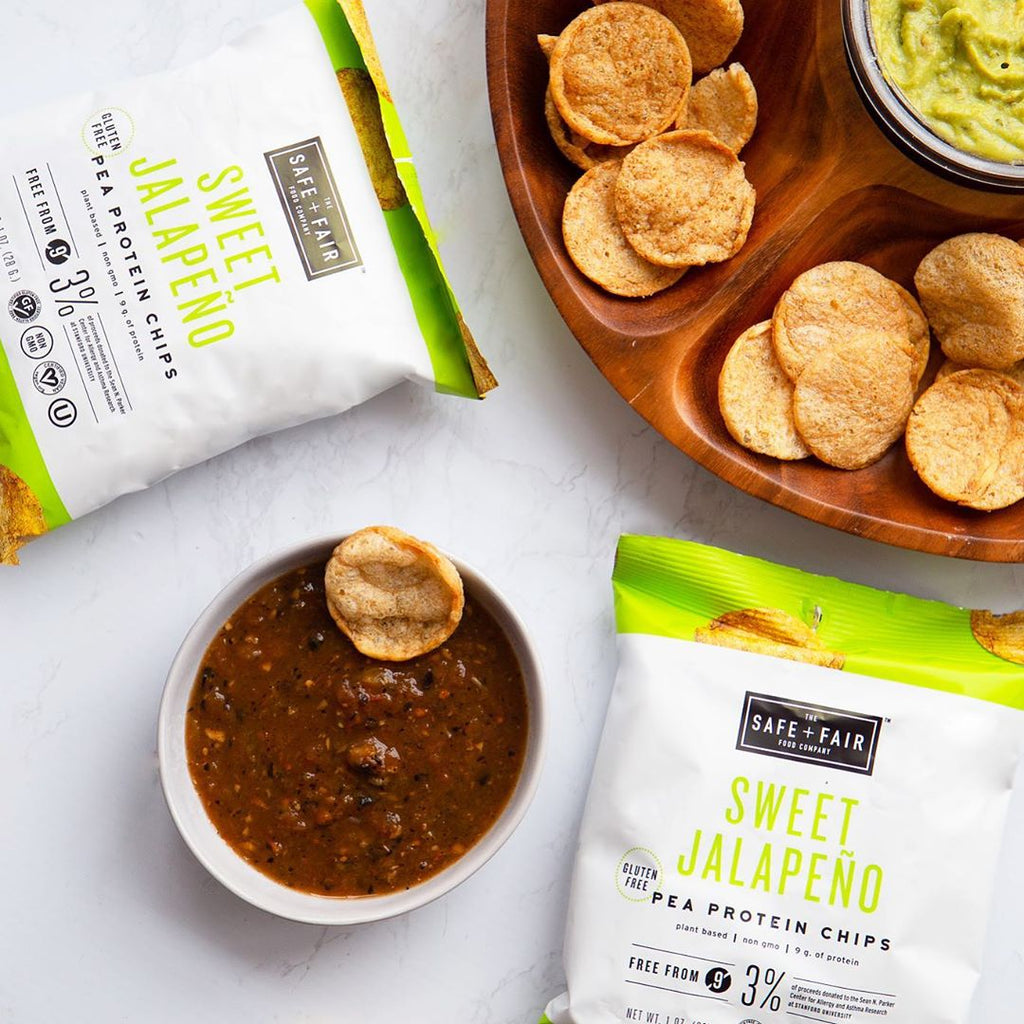 7 Healthy Protein Chip Alternatives Safe + Fair Pea Protein Chips - Swolverine