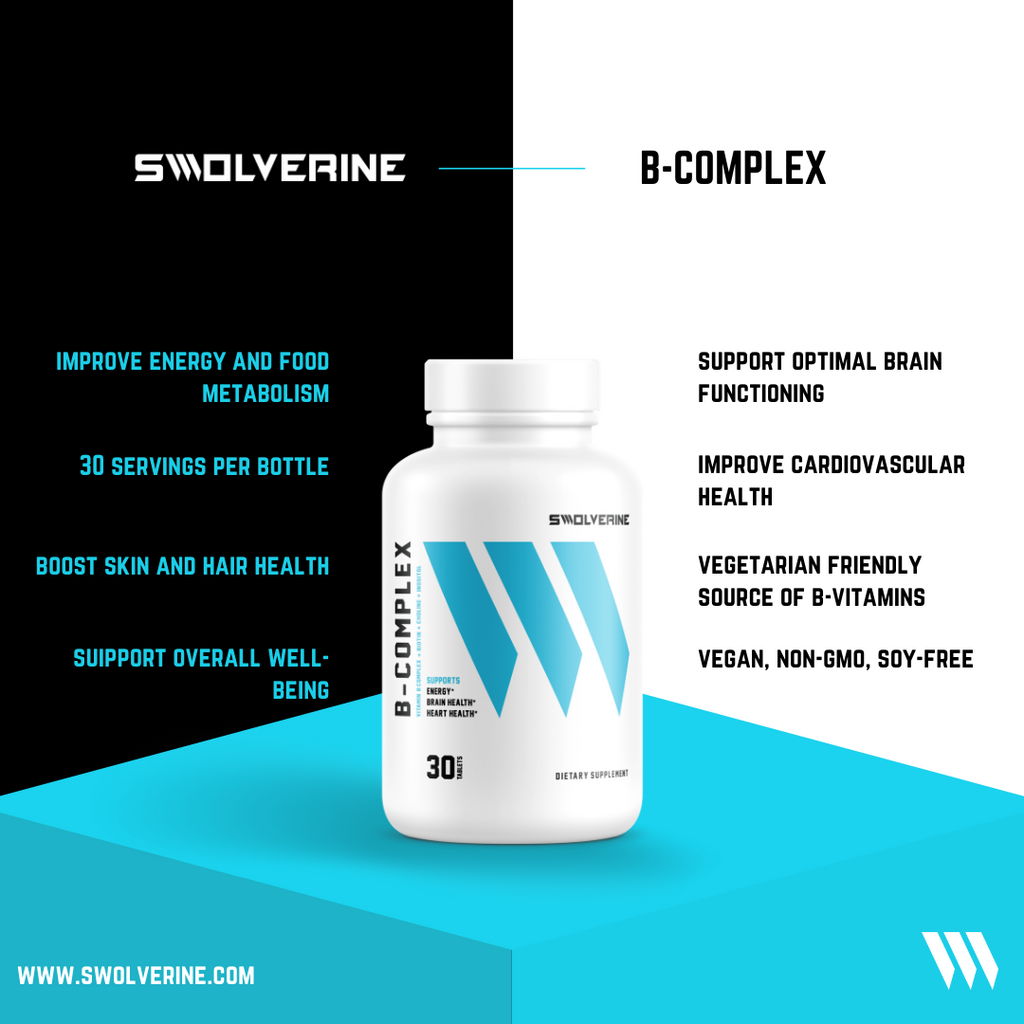 B-Complex Supplement Swolverine