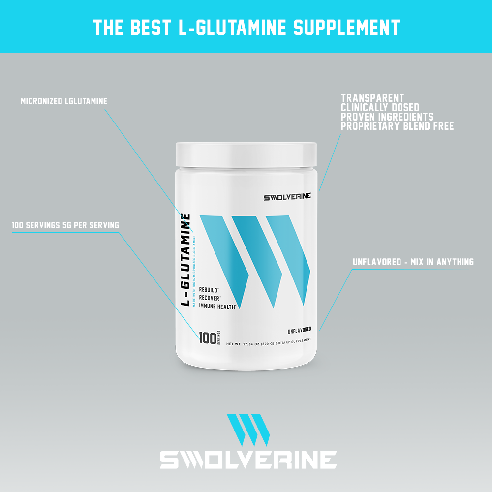 Benefits Of L-Glutamine - Swolverine