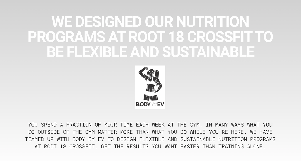 Body By EV - Root 18 CrossFit Nutrition Coaching - Swolverine