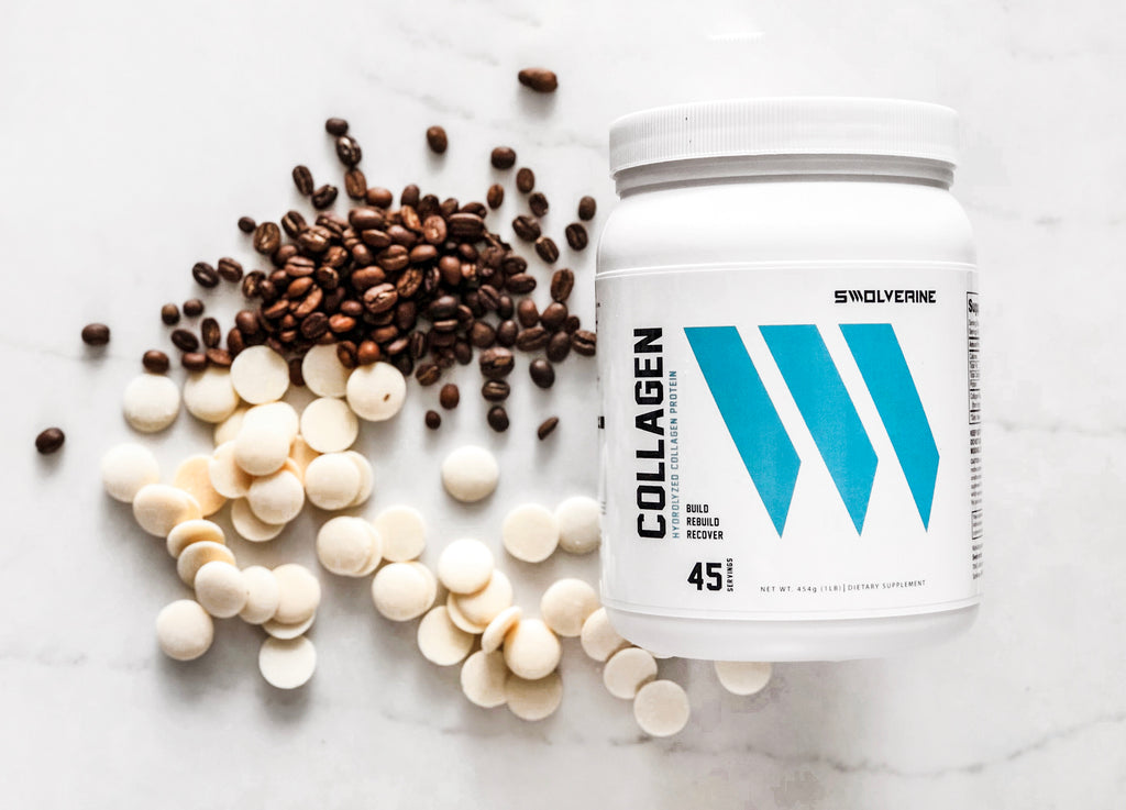 Chocolate Covered Espresso Beans With Collagen - Swolverine