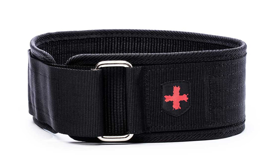 "Harbinger 4"" Nylon Belt - Swolverine"