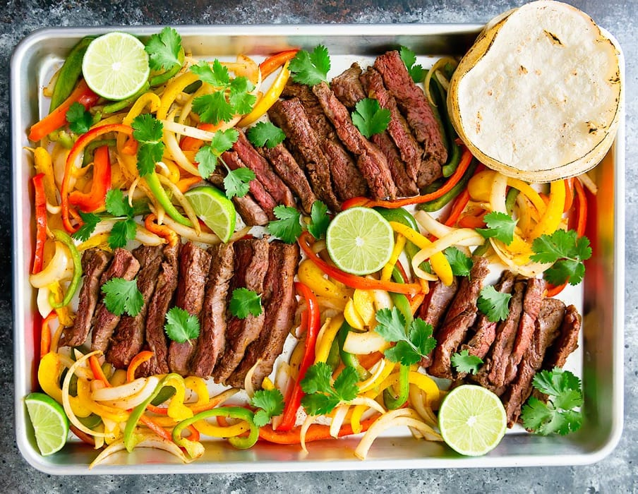 One Pan Fajitas