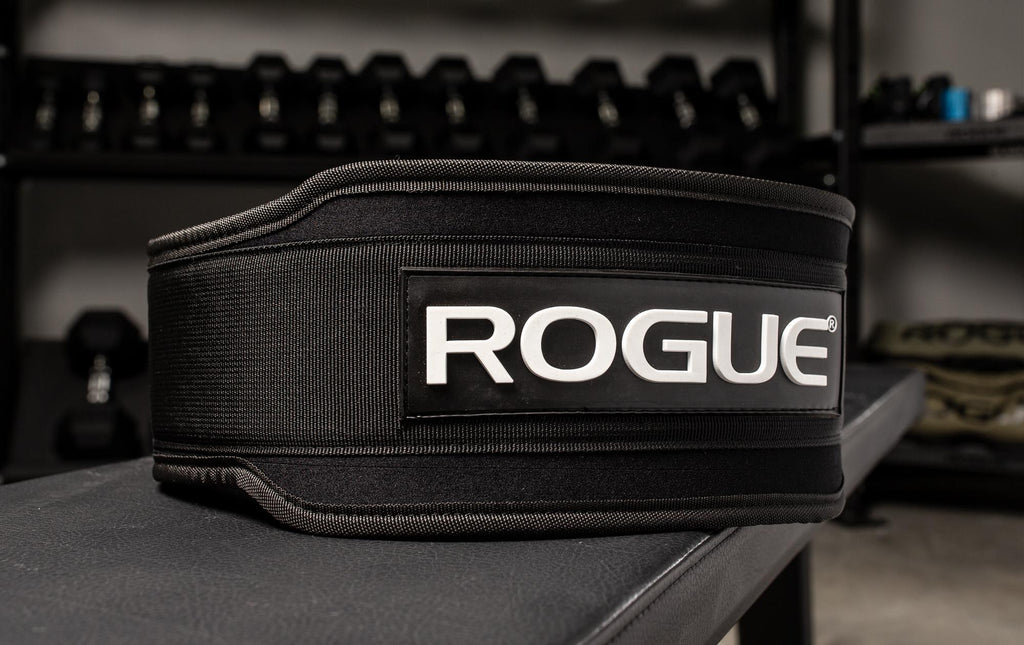Rogue 5 Nylon Lifting Belt - Swolverine
