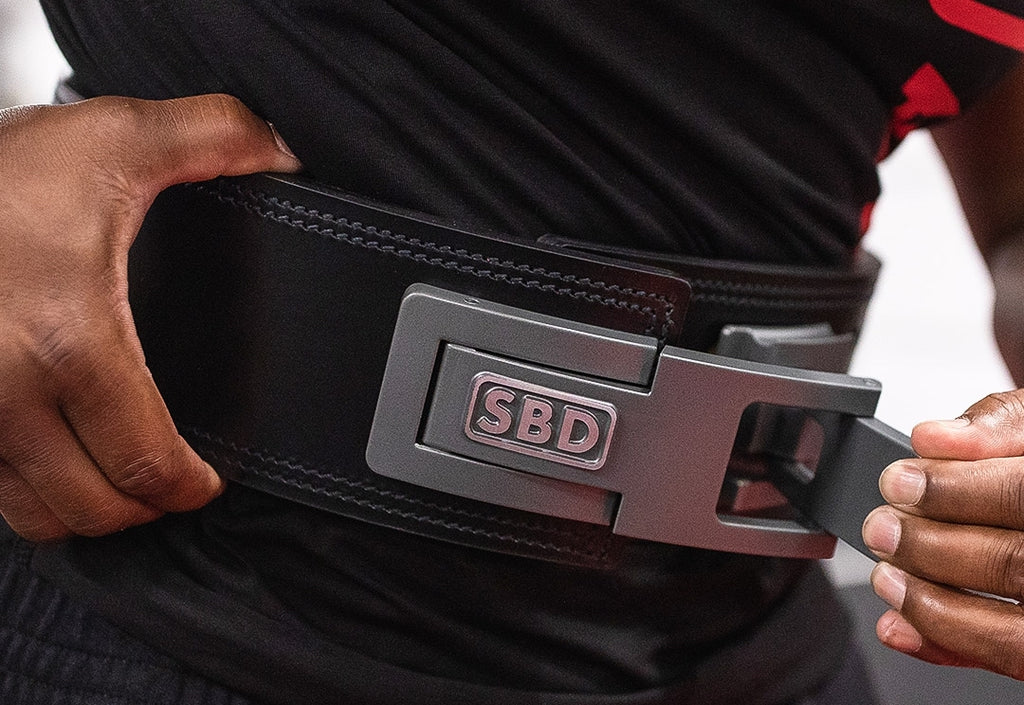SBD 13mm Lever Belt - Swolverine