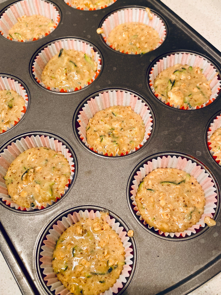 Recipe: Healthy Zucchini Muffin Recipe Made With Collagen Protein by Swolverine