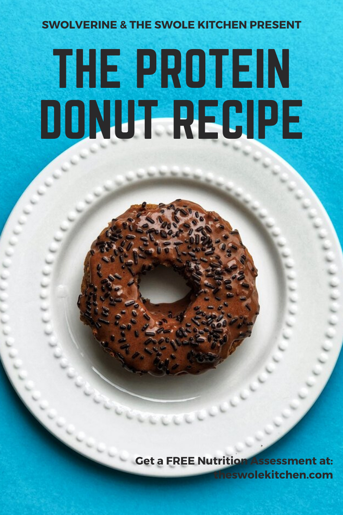 The Easiest Protein Donut Recipe For Your Weekly Meal Prep - Swolverine