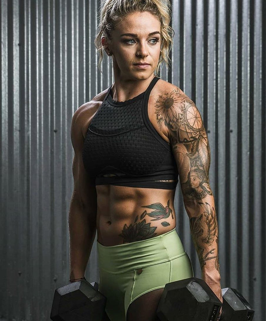 The top hottest female crossfitters at the crossfit games