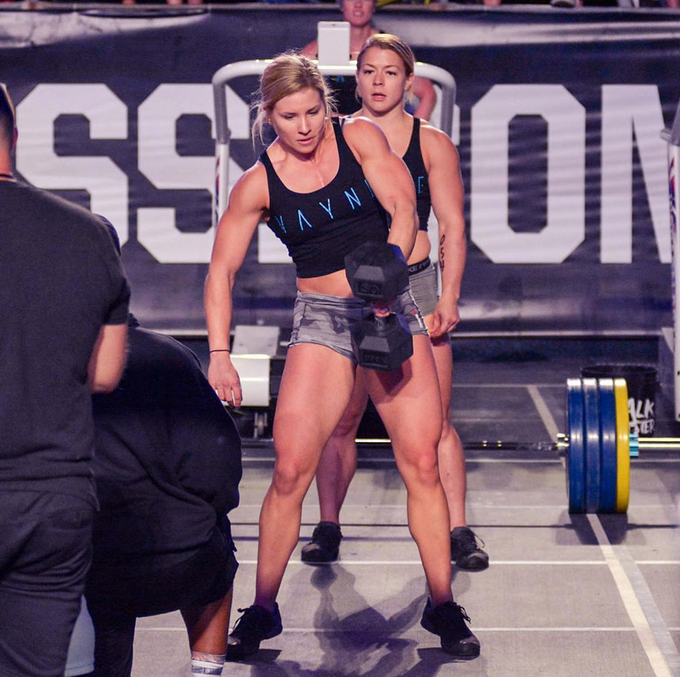 the top female crossfit athletes at the 2018 crossfit games