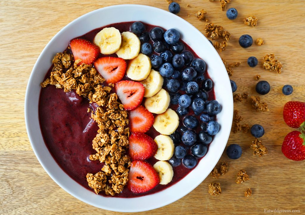 Unhealthy Healthy Foods - Acai Bowl