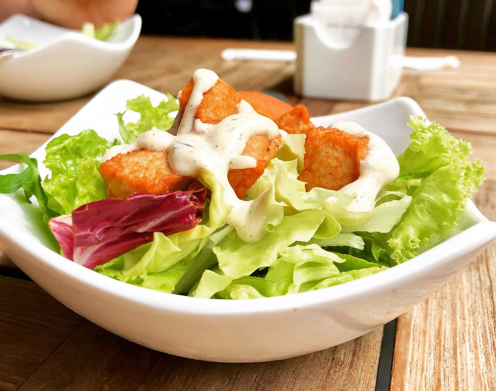 Unhealthy Healthy Foods - Light Salad Dressing