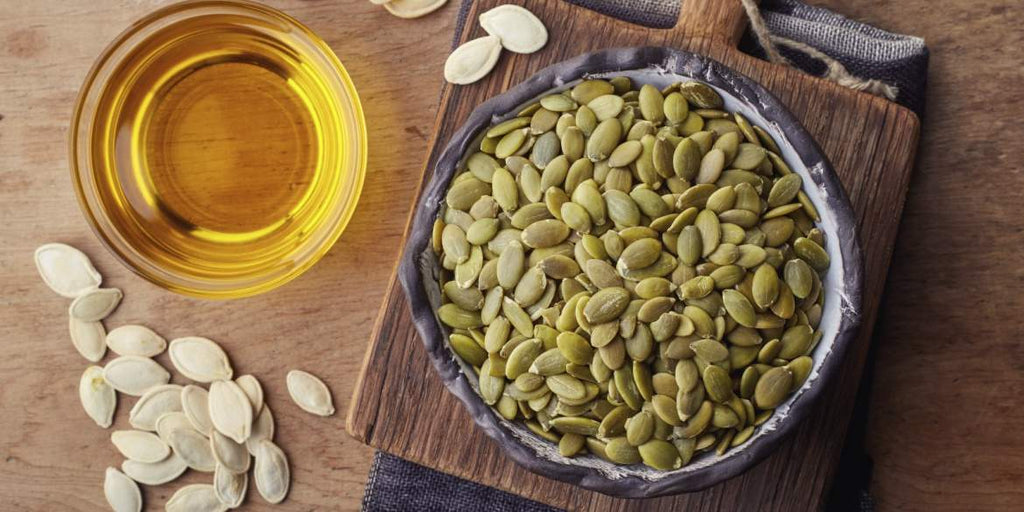 What cooking oil is best for you - pumpkin seed oil