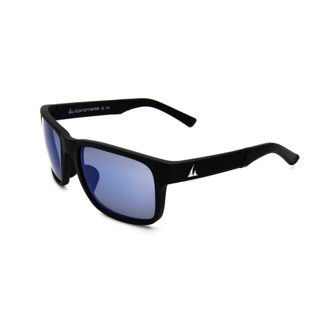 3264m BLACK RUBBER/ BLUE Lenses