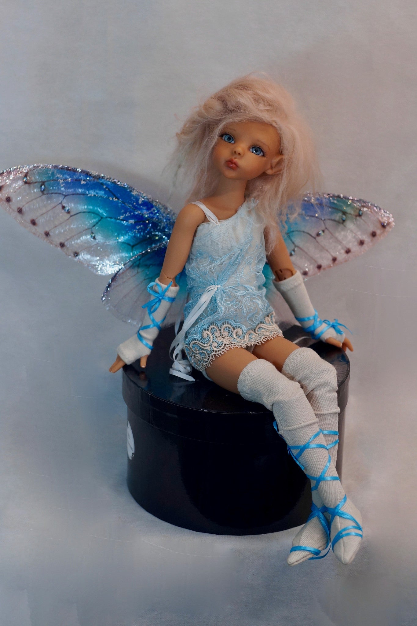 Blue Fairy by Bo Bergemann - Sold