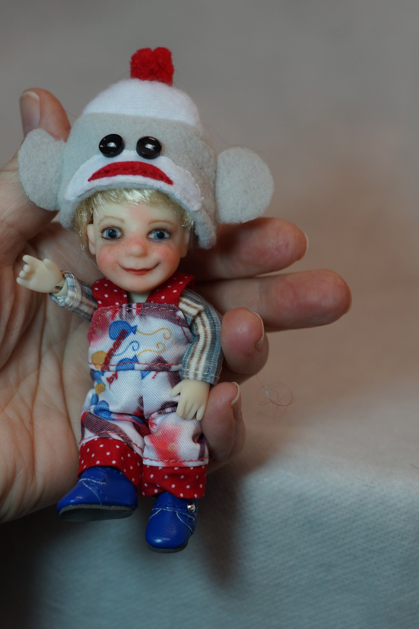 Giggle & Goofball's Surprise Collectible Micro BJD Set by Bo Bergemann