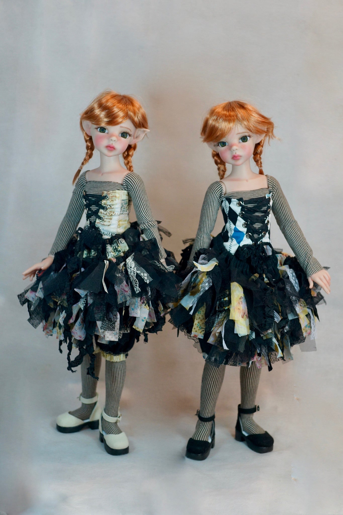 Twin Ballerina's by Bo Bergemann - Sold