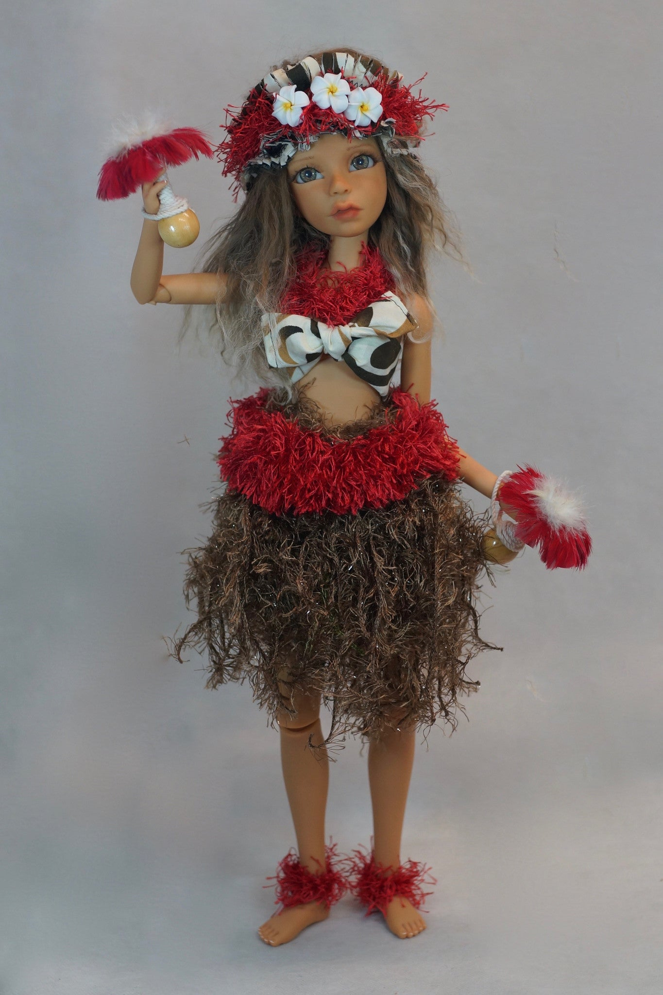 Tahitian Dancer by Bo Bergemann