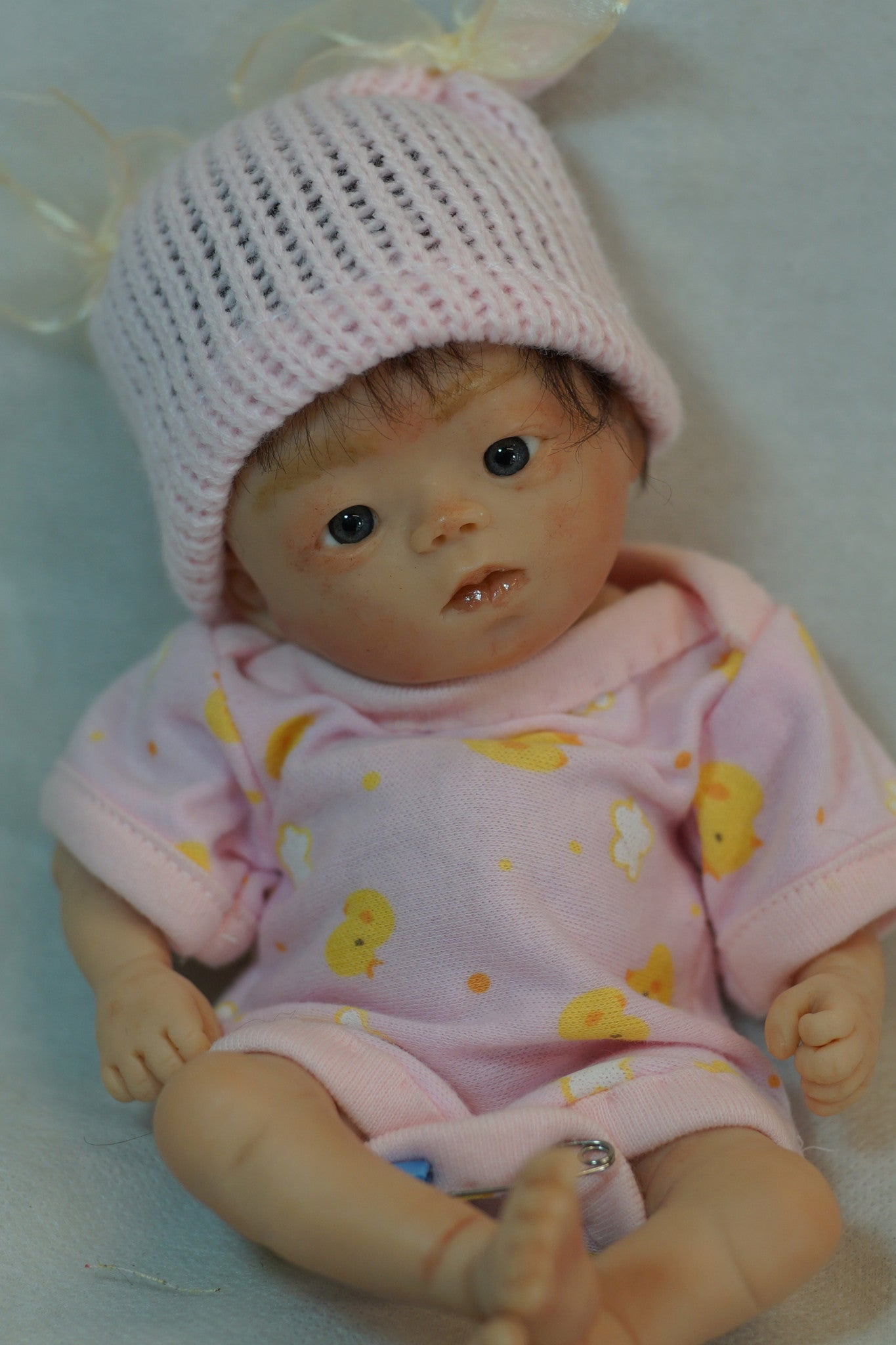 Original Polymer Sculpt OOAK Asian Baby #16 by Akie Yamada