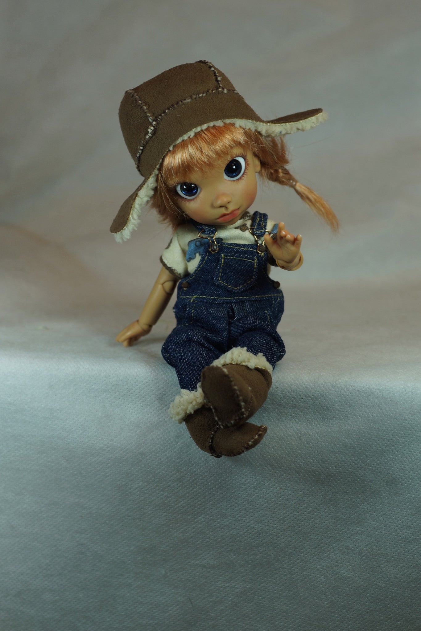 Tiny Tomboy by Bo Bergemann - Sold