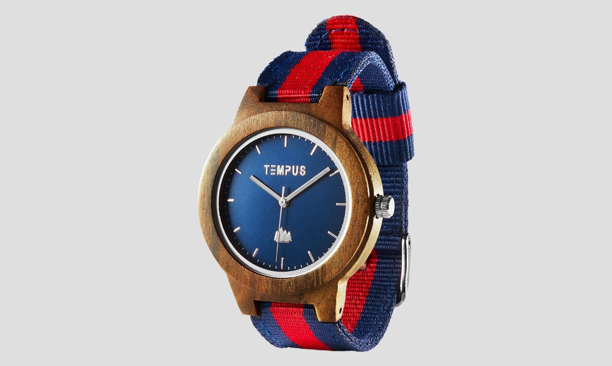 TEMPUS Willoughby | Women's Walnut Oxford Watch