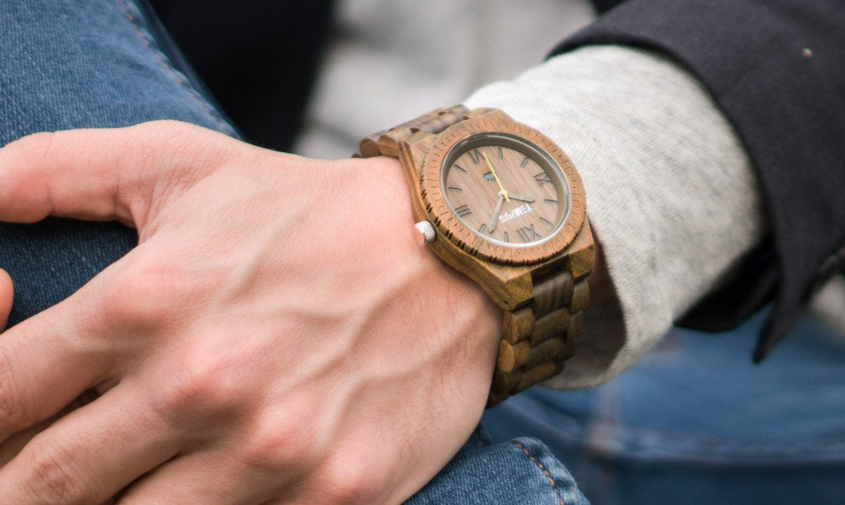 TEMPUS Silvestre | Men's Green Sandalwood Watch