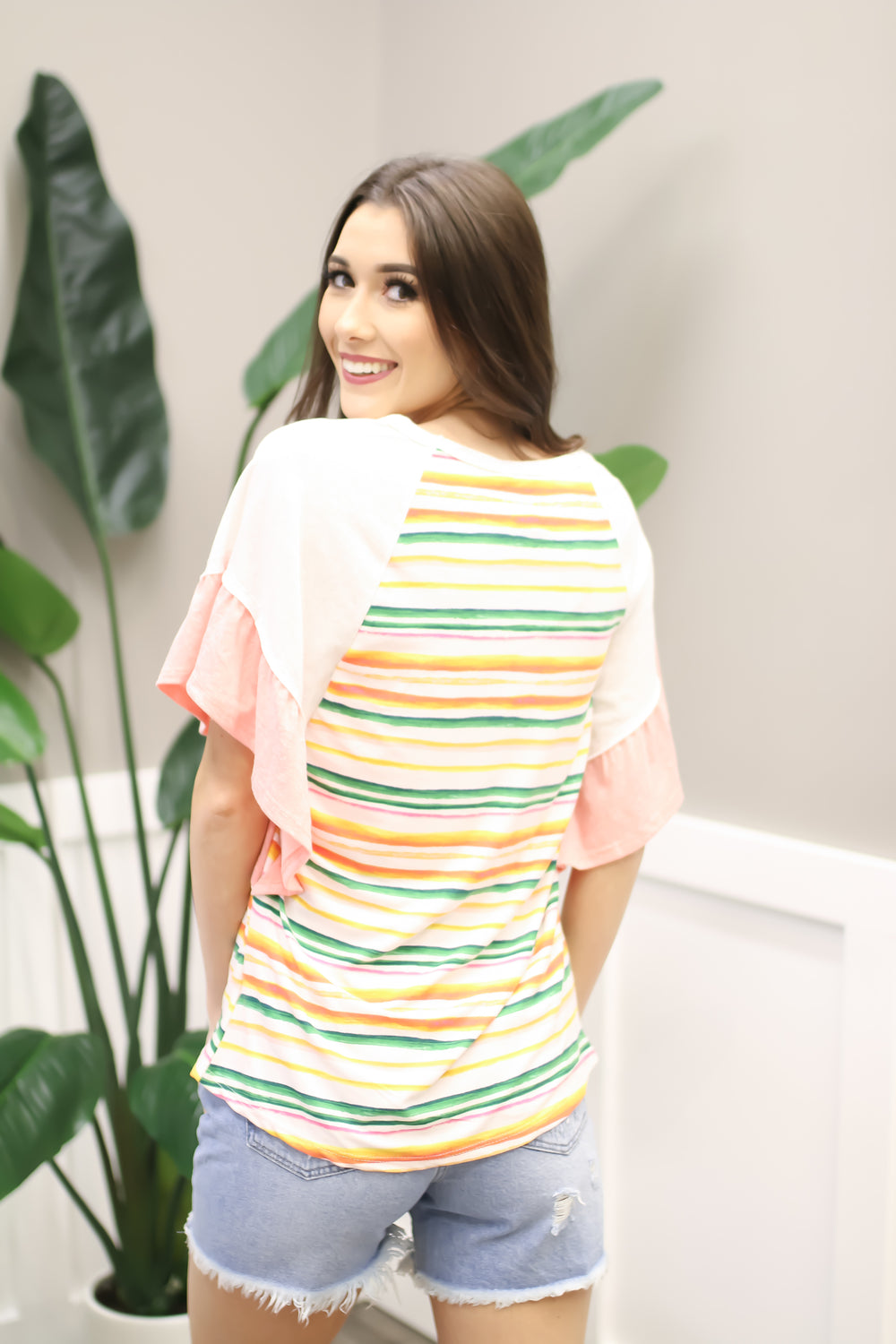 Sold on Stripes Top