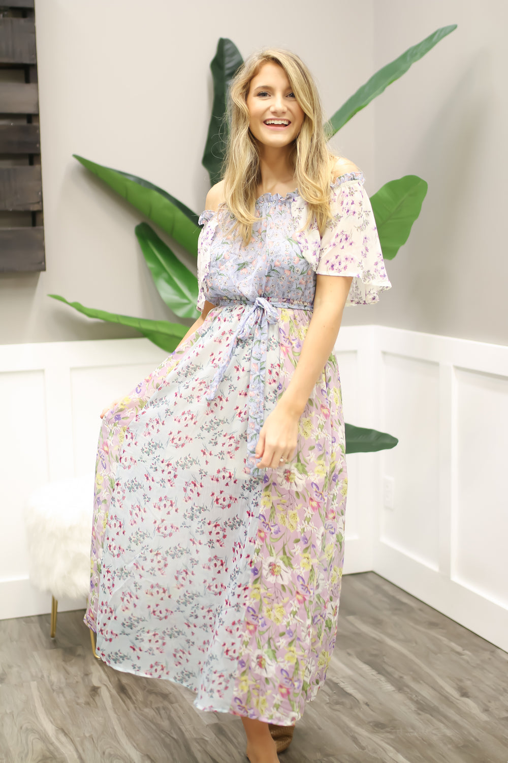 Bloomin' To The Patch Maxi
