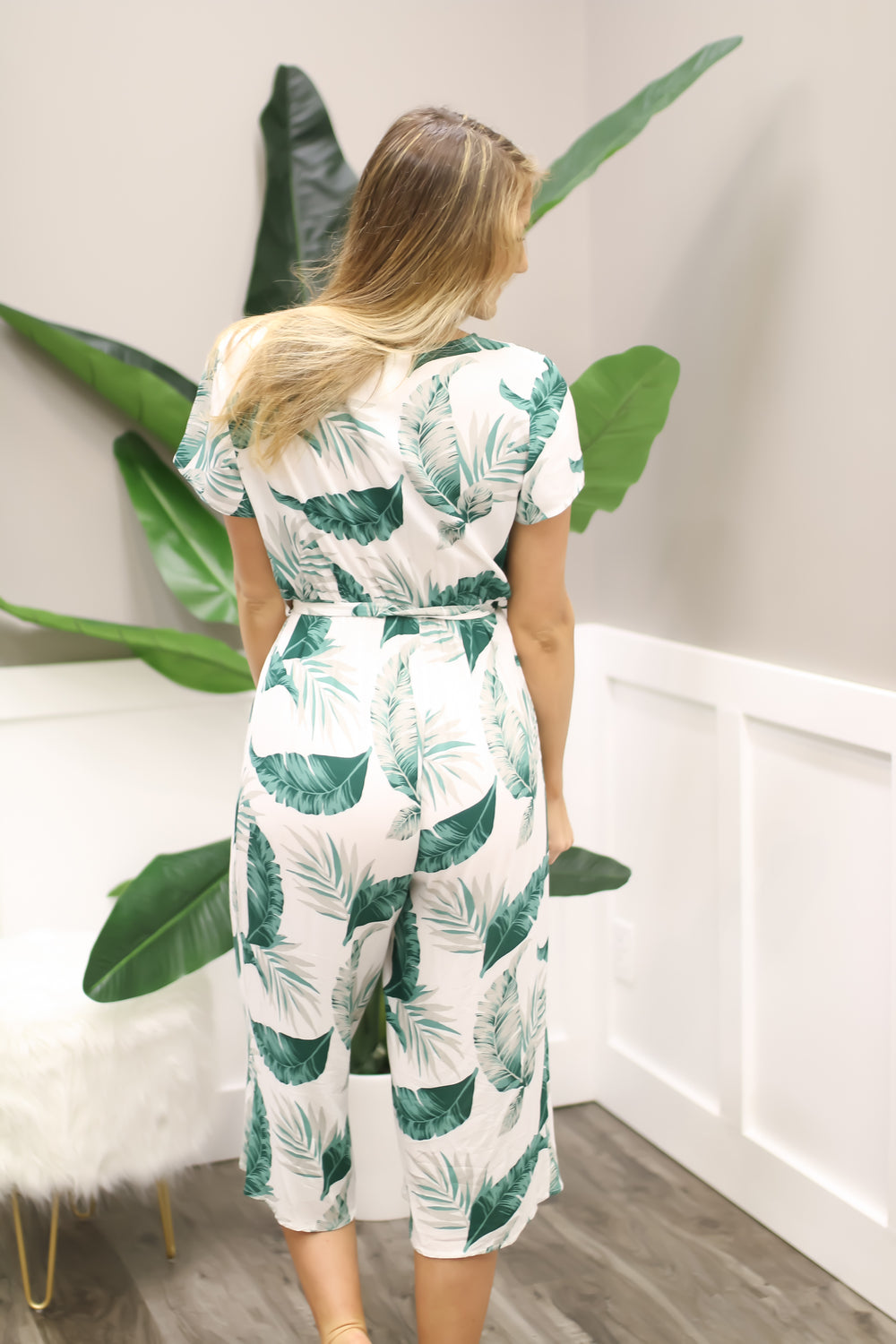 Palm Springs Jumpsuit - Off White