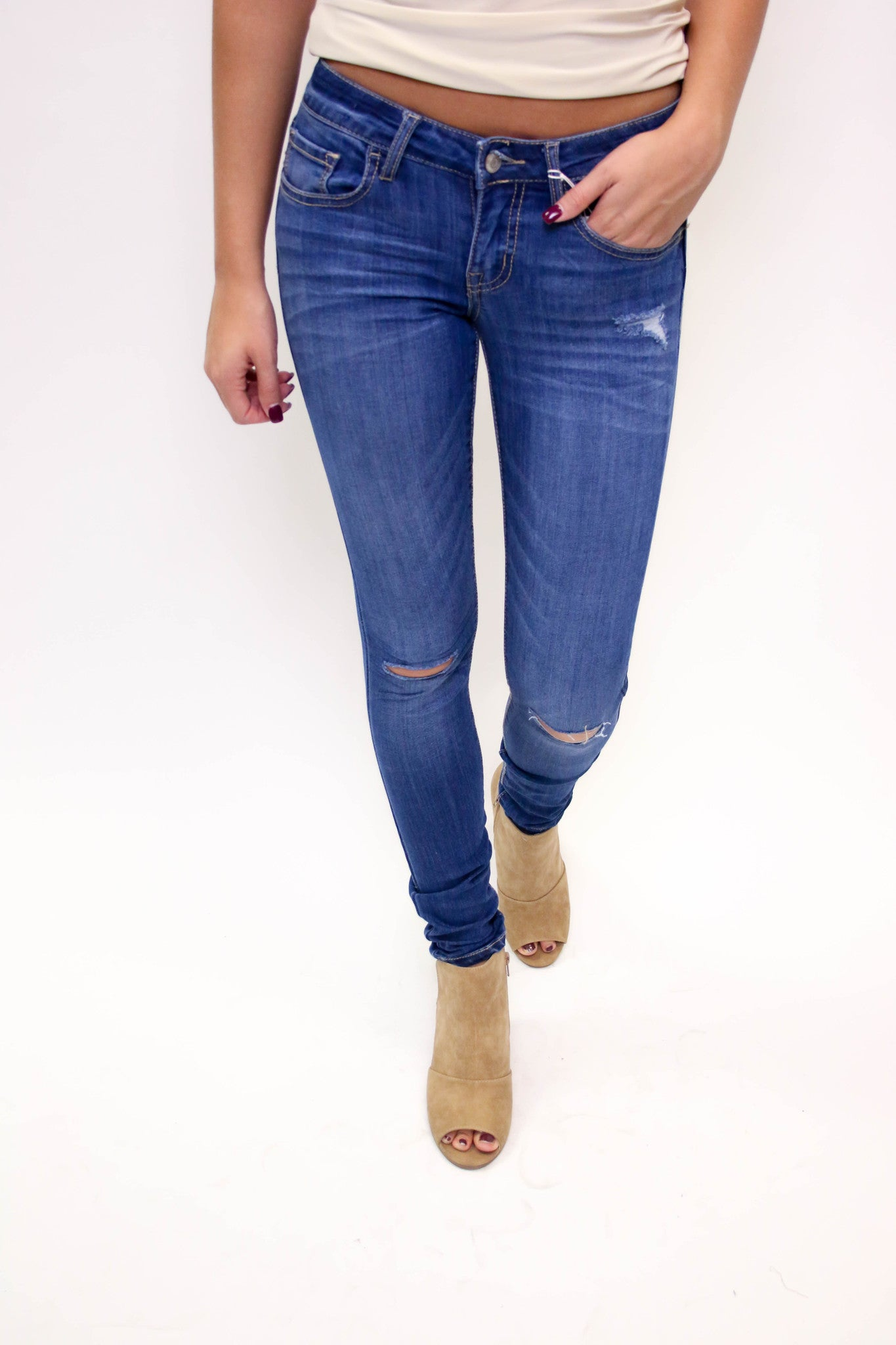 Denim Stretch Skinny Jean