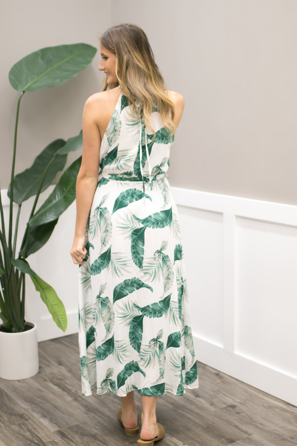 Palm Springs Restort Maxi - Off White
