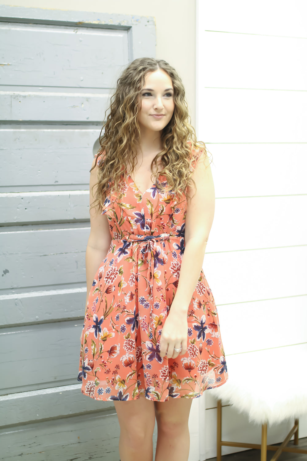 The Perfect Sundress - Dusty Coral