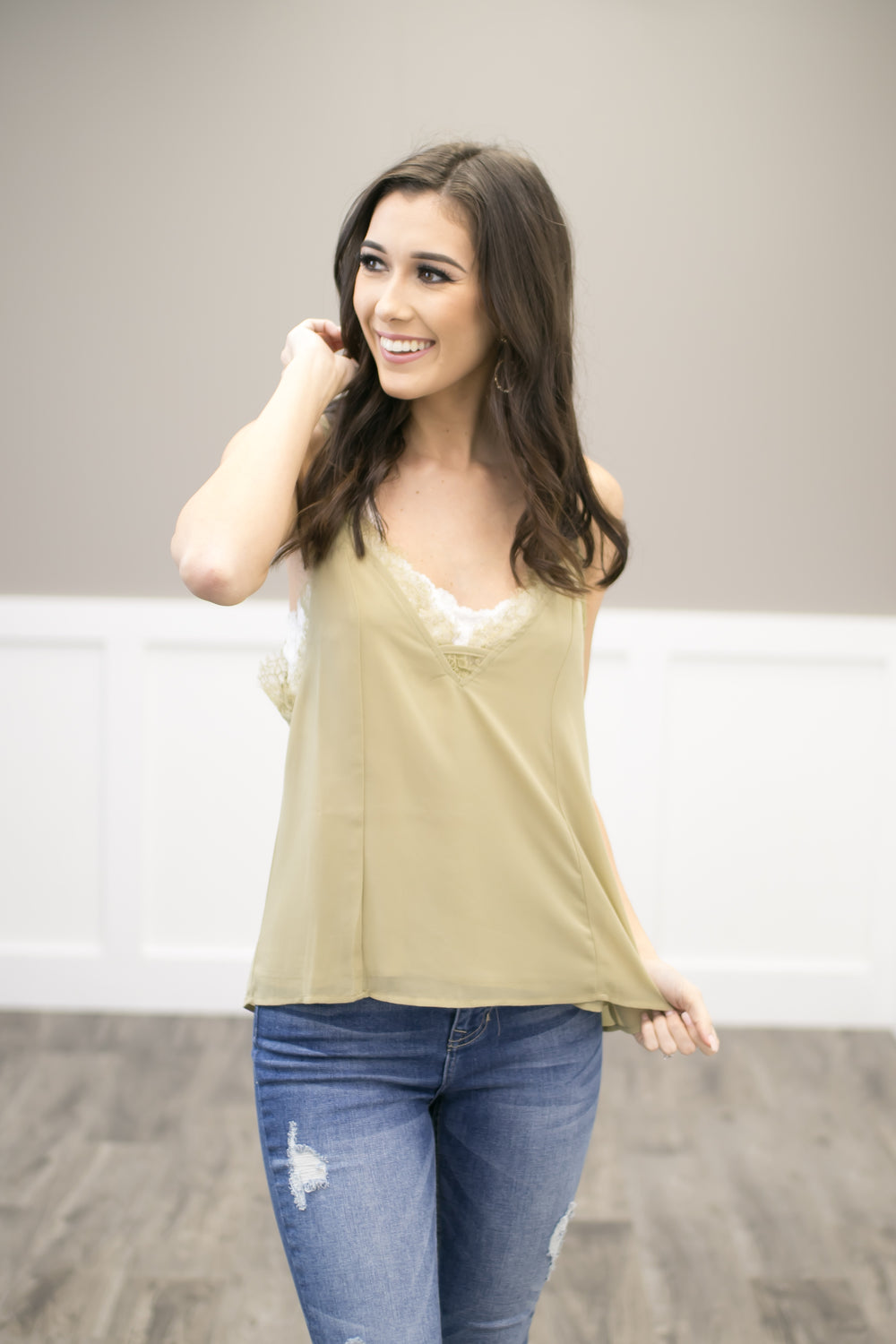 Just A Touch Of Elegance Top